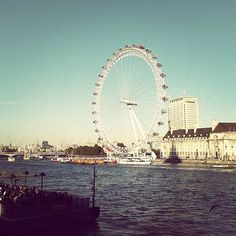 Fernweh! Wanna go to London...now! #Fernweh #London #londoneye #themse #vacation #inlovewiththiscity  #werkommtmit by kathi_ka