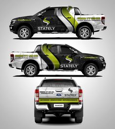 stately truck wrap