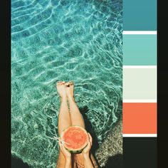 Color palette of the day, because that is where I wish I could be today. Photo credit: Treasure & Travels #picoftheday #beautiful #beautyiseverywhere #colorpalette injinnyous.com
