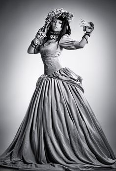 Yuuko by ~arienai-ten on deviantART xxxHolic Steampunk Halloween Costumes, Robert Bloch, Xxxholic, Steampunk Fashion, Cosplay, Fancy, Deviantart, Holidays, Blog