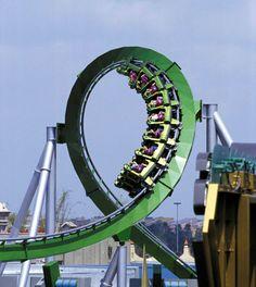 The Incredible Hulk Coaster - Islands of Adventure. My favorite ride [=