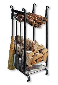 Hearthside Wood Rack: Fireplace and Hearth at L.Bean - So simple and clean looking