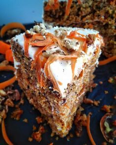 Cake with carrot and ham - Clean Eating Snacks Brownies, Brownie Cake, Greek Recipes, Desert Recipes, Cookbook Recipes, Cooking Recipes, Greek Cake, Little Corner, Salty Cake