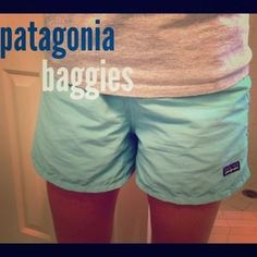 patagonia shorts women's baggies on - Google Search