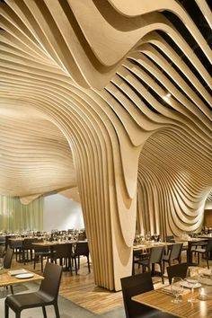Banq restaurant - Boston #woodenfloor #wood #floor #beautiful