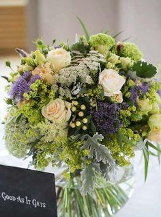 Lovely Wedding Flower Arrangements by Phillo