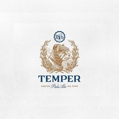 Logo inspiration:  Temper Pale Ale by Srdjan Vidakovic   Hire quality logo and branding designers at Twine. Twine can help you get a logo, logo design, logo designer, graphic design, graphic designer, emblem, startup logo, business logo, company logo, branding, branding designer, branding identity, design inspiration, brandinginspiration and more.