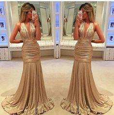 Esse vestido é maaaara pra arrasar em uma formatura não é mesmo? Super amei #longos
