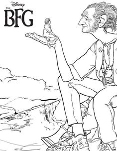 Get your free printable BFG Coloring Sheets here. Disney's The Big Friendly Giant cast, the trailer, and a behind the scenes look at the film and book.