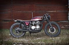 Honda CB550F SuperSport - done the right way, don't mess with the engineering, just make it awesome
