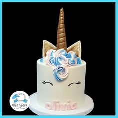 Olivia's Buttercream Unicorn Cake – Blue Sheep Bake Shop | https://lomejordelaweb.es/