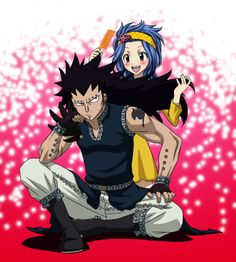 Gajeel and Levy, Fairy Tail