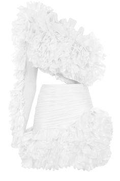 Homecoming Dress Fringed Shawl Design Haltet Dress, White / M Kpop Fashion Outfits, Stage Outfits, Fashion Dresses, Unique Outfits, Classy Outfits, Cute Outfits, Elegant Dresses, Beautiful Dresses, Lanvin