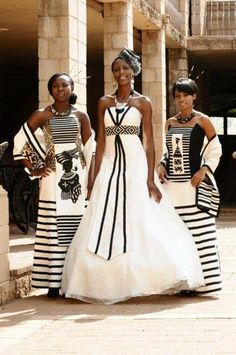 Afrikan Style Wedding Outfits