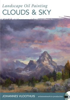 Landscape Oil Painting Clouds & Sky Video Download