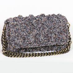 Handmade crochet flap bag Handmade Bags, Tweed, Handbags, Boho, Crochet, Women, Fashion, Purses, Chrochet