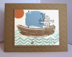 Laurie's Stampin' Spot: Work of Art Sailboat