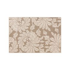Surya Birch Mountain Floral Indoor Outdoor Rug, Beig/Green (Beig/Khaki), S00151001645 #OutdoorRugs