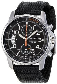 Seiko Men's SNN079P2 Cloth Strap Watch