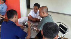 UPPD Uppd Senen Dinas Pajak melakukan penyampaian e-POS (electronic Payment Online System) di Grand Cafe.