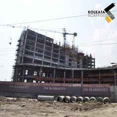 Scaffolding Installation at JW Marriott, Kolkata, India