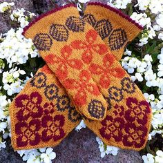 Ravelry: Kind of retro pattern by JennyPenny