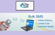 Want to send Text Messages anyone worldwide at low price? Just visit MSGClub now. Send International SMS instantly through our Bulk SMS Gateway. For more detail, please visit -  http://www.msgclub.net