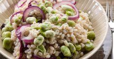 23 heerlijke eenpansgerechten voor op de camping Spatzle, Pasta Salad, Macaroni, Potato Salad, Food And Drink, Rice, Potatoes, Menu, Healthy Recipes