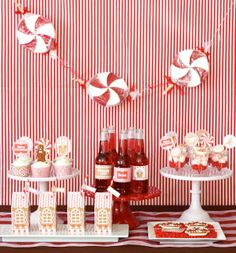 rivernorthLove: A Candy Land Gingerbread House Party