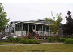 Exterior elevation - The Mt. Shasta 5V465A4, Palm Harbor Homes