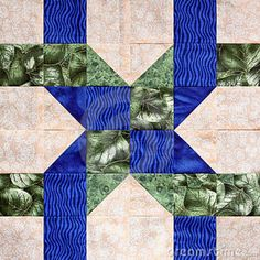 Download Twisted Ribbon Quilt Square Royalty Free Stock Photos - Image: 11041488