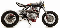 Custom Honda CB400 - Grease n Gasoline  Custom Honda CB400, Honda CB400, Honda, Custom bikes, www.way2speed.com