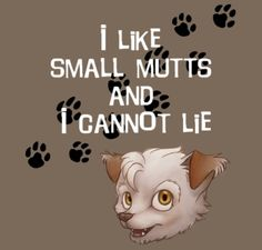 Click here to support The Chesnut Mutts - I Like Small Mutts and I Cannot Lie organized by Abby Chesnut
