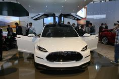 Tesla Model X live photos: 2013 NAIAS