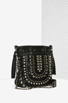 $60.00   -   Nasty Gal x Nila Anthony Stud Life Crossbody Bag | Shop Accessories at Nasty Gal!