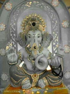 Beautiful Lord Ganesha. Namaste Lord Ganesh. Om