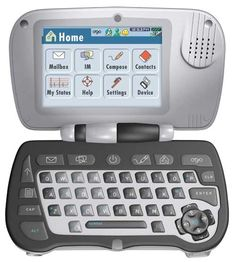 AT&T's OGO was a small handheld designed for messaging.