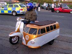 Scooter combi