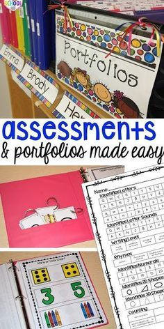 Make assessments & p
