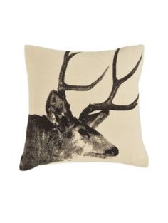 Pendleton stag pillow
