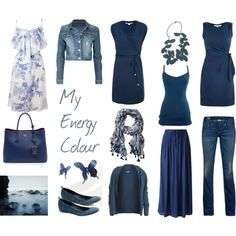 I can't get enough of these blues.  Sapphire is my birthstone.