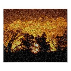 Digital Expressionism: Sky on Fire Sunrise
