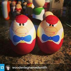 Tweedle dee and tweedle dum easter eggs
