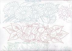TRABALHOS EM PINTURA E CROCHE 5 - Sofia Goulart - Álbuns da web do Picasa