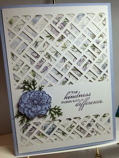 Many Manly Occasions - May 2016 Paper Pumpkin alternative. Everything Eleanor with Almost Amethyst and Mossy Meadow **photo only Pretty Cards, Cute Cards, Flower Cards, Paper Flowers, Stampin Up Paper Pumpkin, Pumpkin Cards, Stamping Up Cards, Get Well Cards, Homemade Cards