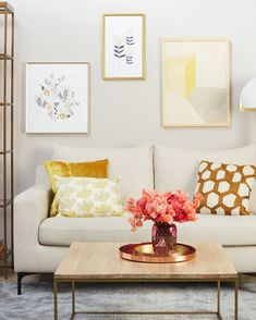 see how paint dramatically transforms this living room