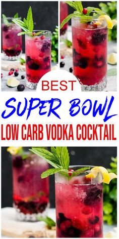 Low Carb Vodka Drinks, Alcoholic Drinks Recipes With Vodka, Low Calorie Vodka, Vodka Recipes, Alcohol Drink Recipes, Keto Recipes, Low Calorie Cocktails, Fast Recipes, Alcoholic Beverages