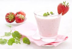 Strawberry Shakeology is here! Try this #recipe for Strawberry Vanilla #Shakeology. #TeamBeachbody