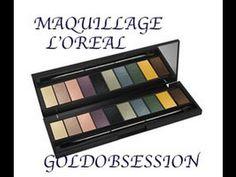 Maquillage Gold obsession l'oréal  avec Lea homework . Les conseils de N...
