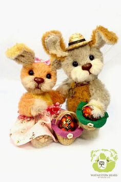 Belle & Thumper by Wayneston Bears